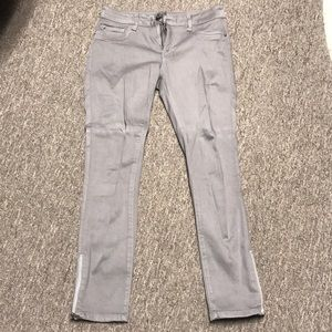 DL1969 Florence Instasculpt Cropped Gray Pants